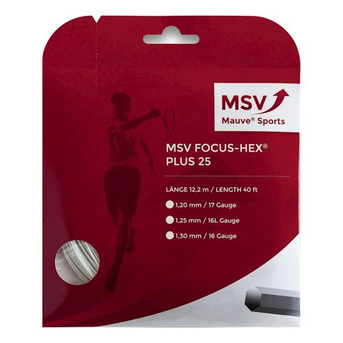 MSV Focus-HEX Plus 25 String Set 12m - White