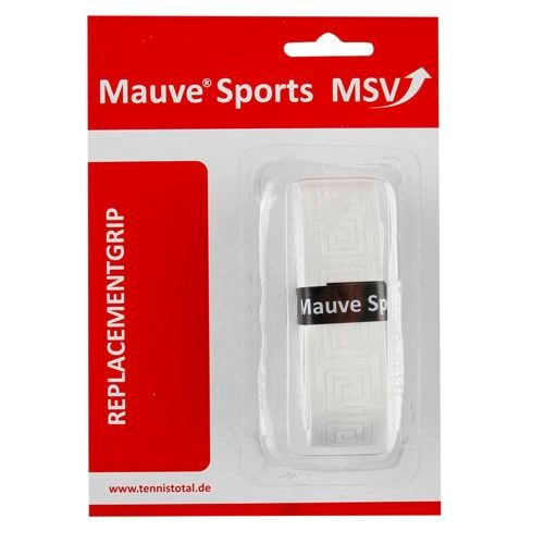 MSV Basic Grip Soft-Tac Embossed 1 Pack - White