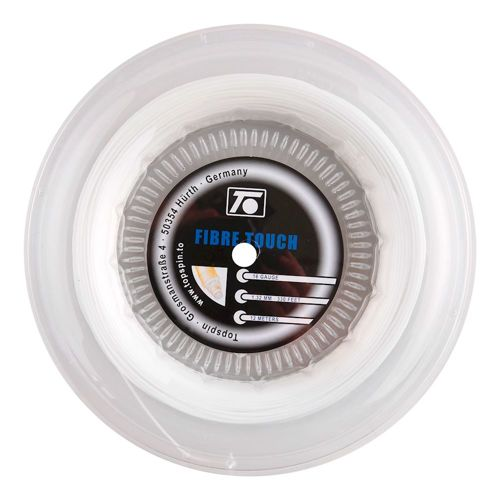 Topspin Fibre Touch String Reel 100m - White