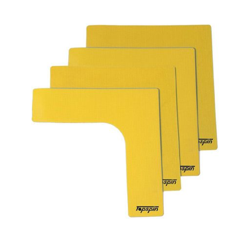 Topspin Marking Corners 4 Pack - Yellow