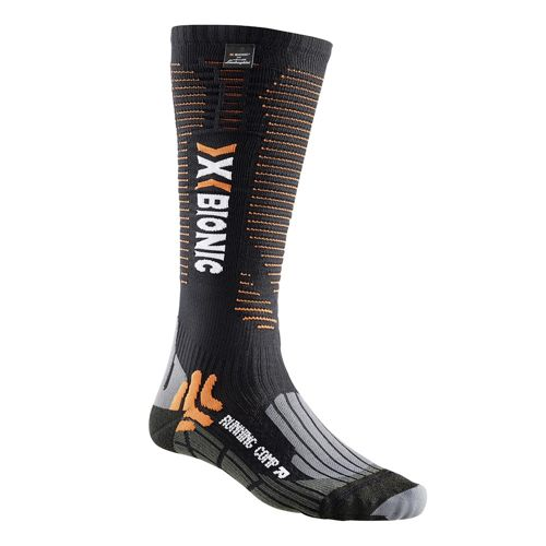 X-SOCKS Running Competition For Lamborghini Sports Socks - Black, Orange