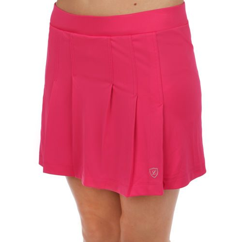 Limited Sports Fancy Classic Line Skirt Women - Pink, Silver