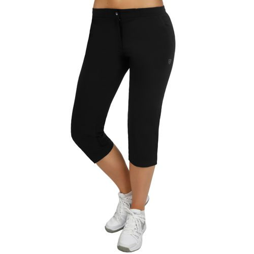 Limited Sports Performance Classic Stretch Capri Pants Women - Black