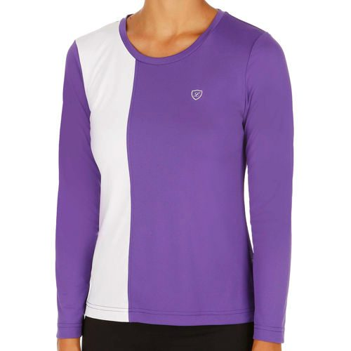 Limited Sports Performance Lorene Long Sleeve Women - Violet, White