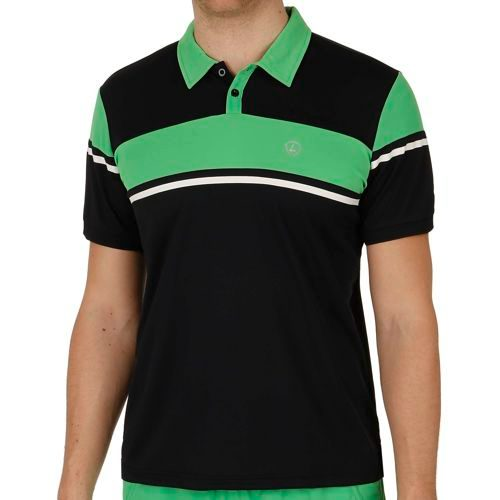 Limited Sports Performance Peer Polo Men - Dark Blue, Green
