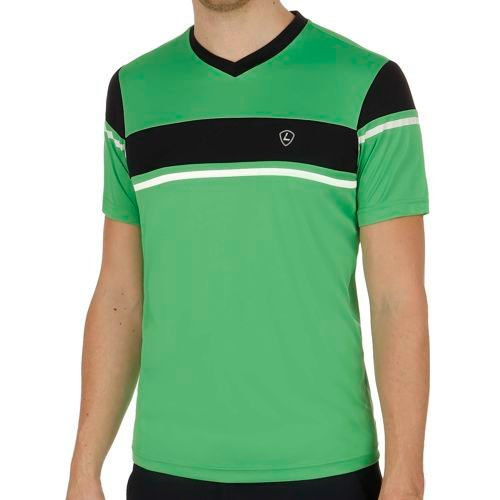 Limited Sports Performance Sandro T-Shirt Men - Green, Dark Blue