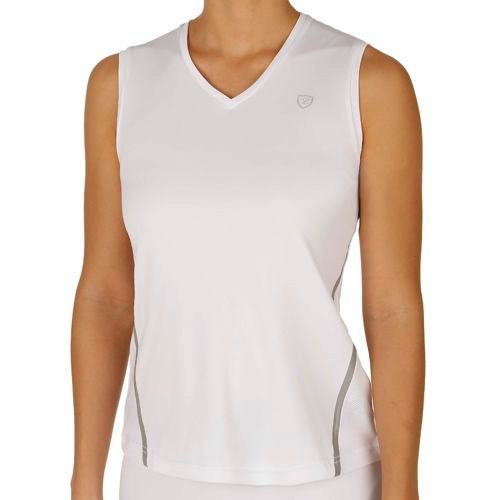 Limited Sports Performance Tally Tank Top Women - White