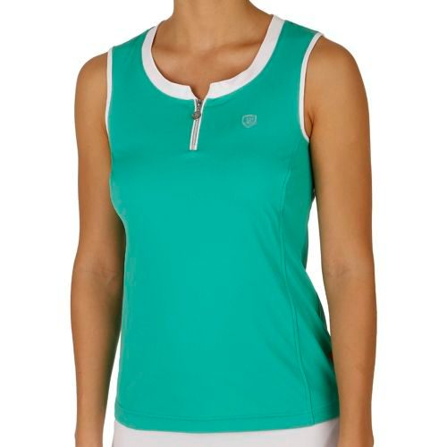 Limited Sports Performance Zina Top Women - Green, White