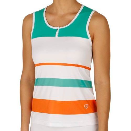 Limited Sports Performance Tallia Top Women - White, Green