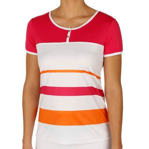 Limited Sports Performance Samantha T-Shirt Women - Pink, White