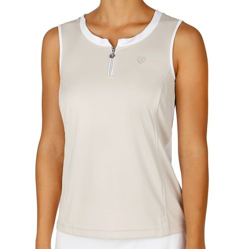 Limited Sports Performance Zina Top Women - Lightgrey, White