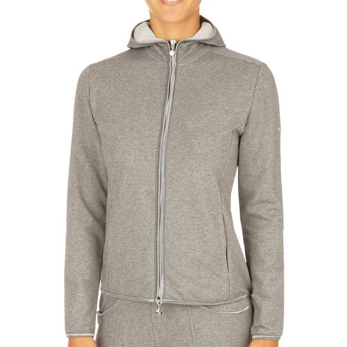 Limited Sports Sona Zip Hoodie Women - Grey