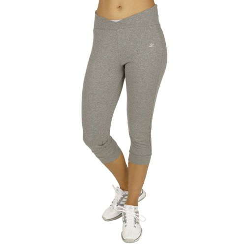 Limited Sports 3/4 Rolldown-Pant Riga Capri Pants Women - Grey