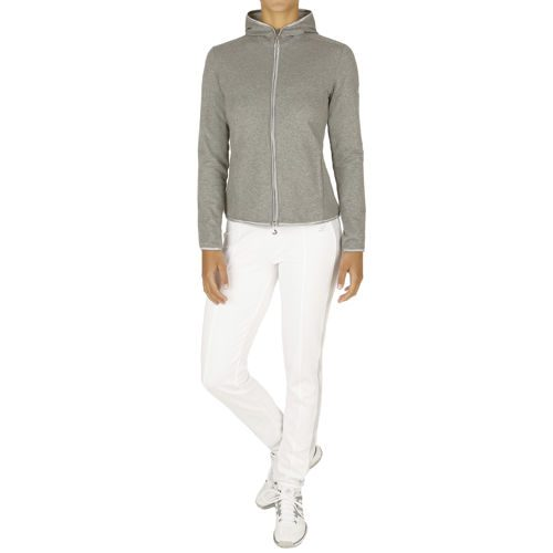Limited Sports Tracksuit Women - Grey, White