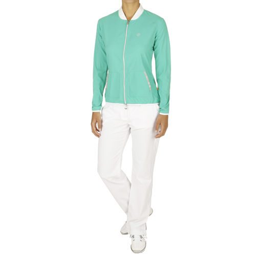 Limited Sports Performance Tracksuit Women - Green, White