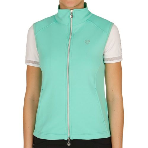 Limited Sports Resort Vest Women - Turquoise, Silver