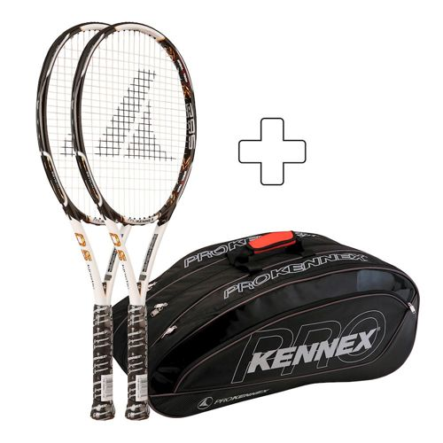PROKENNEX 2 X Kinetic Q 5 295 Plus Tennis Bag