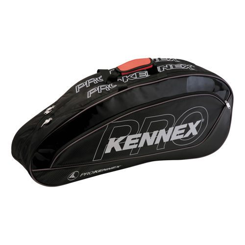 PROKENNEX Double Thermo Bag Racket Bag - Black, Red