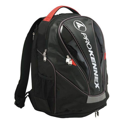 PROKENNEX Backpack - Black, Red