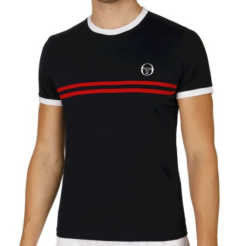Sergio Tacchini Super Mac T-Shirt Men - Dark Blue, White