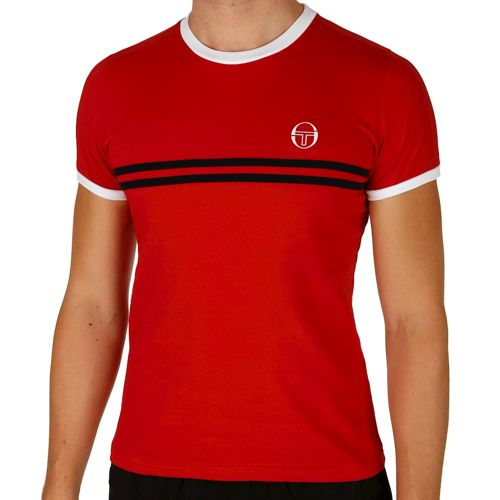 Sergio Tacchini Super Mac T-Shirt Men - Red, White