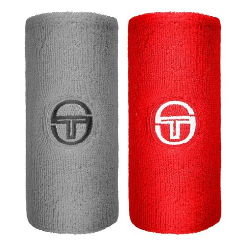 Sergio Tacchini New Kiko Wristband Wristband Men - Grey, Red