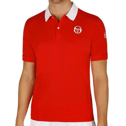 Sergio Tacchini Master Polo Men - Red, White