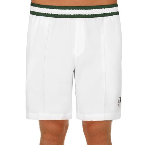 Sergio Tacchini Master Shorts Men - White, Green