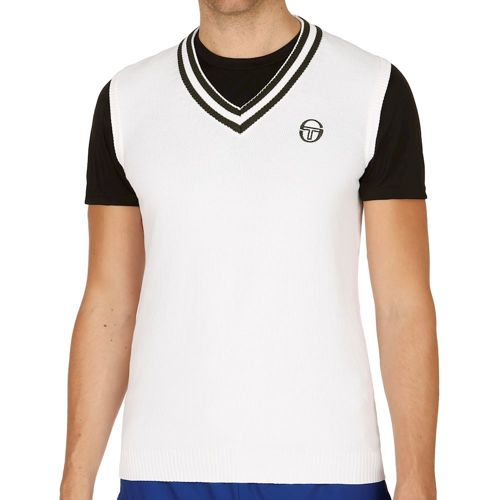 Sergio Tacchini Master Vest Men - White, Green