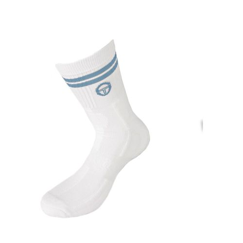 Sergio Tacchini Master Socks Tennis Socks Men - White, Light Blue