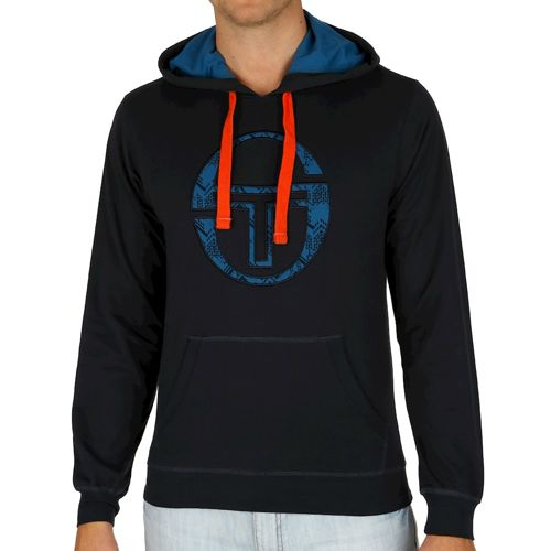 Sergio Tacchini Octagon Sweater Hoody Men - Dark Blue
