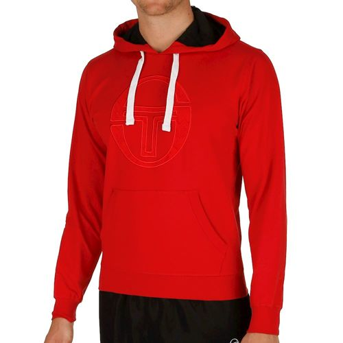 Sergio Tacchini Octagon Sweater Hoody Men - Red