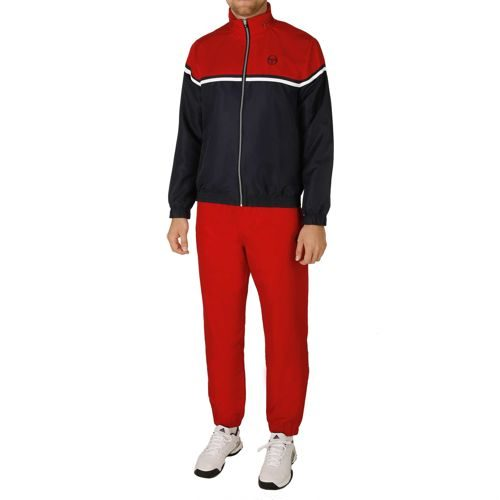 Sergio Tacchini Oblivion Tracksuit Tracksuit Men - Dark Blue, Red