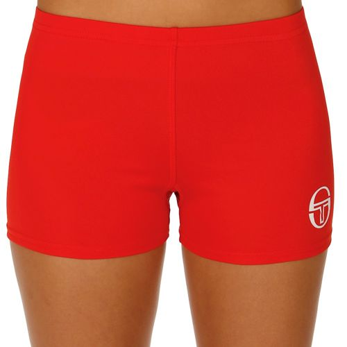 Sergio Tacchini Phoenix Coulotte Shorts Women - Red, White
