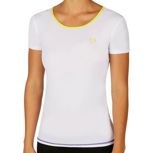 Sergio Tacchini Odine T-Shirt Women - White, Green