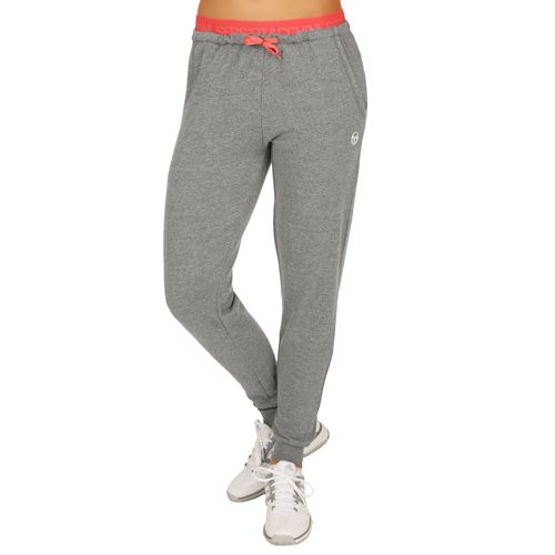 Sergio Tacchini Elica Training Pants Women - Dark Grey, Coral