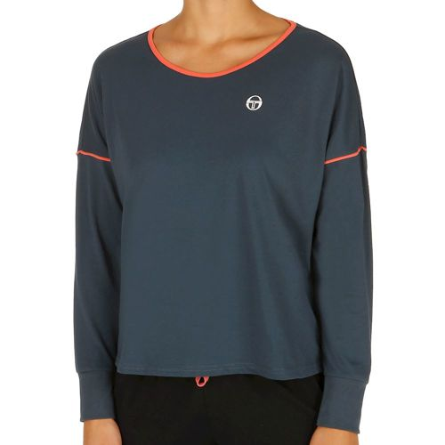 Sergio Tacchini Evol Long Sleeve Women - Dark Blue, Coral