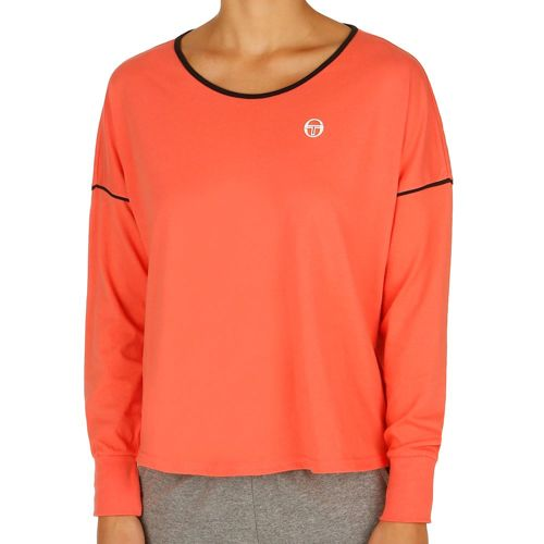 Sergio Tacchini Evol Long Sleeve Women - Coral, Black
