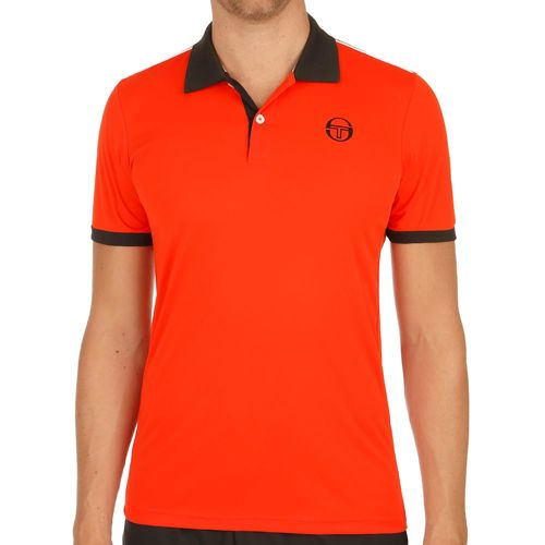 Sergio Tacchini Club Tech Polo Men - Orange, Black
