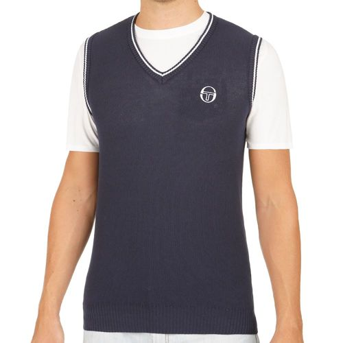 Sergio Tacchini Club Tech Slipover Men - Dark Blue, White