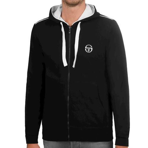 Sergio Tacchini Elbow Hoody Men - Black, White