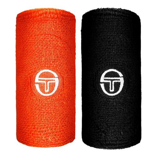 Sergio Tacchini Fragments Wristband Men - Black, Orange