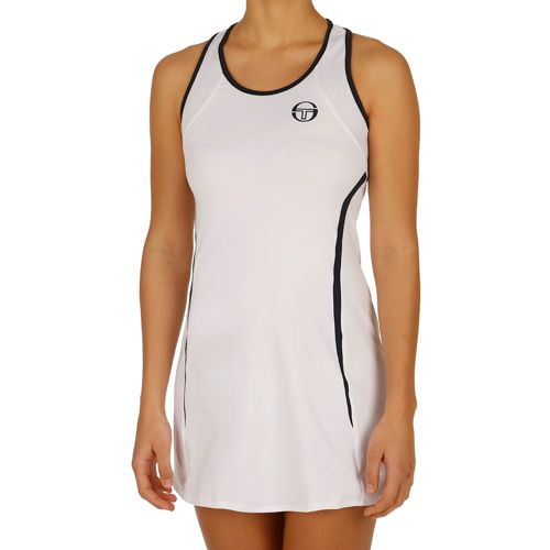 Sergio Tacchini Eva Dress Women - White, Dark Blue