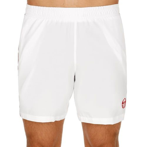 Sergio Tacchini Young Line Pro Shorts Men - White, Red