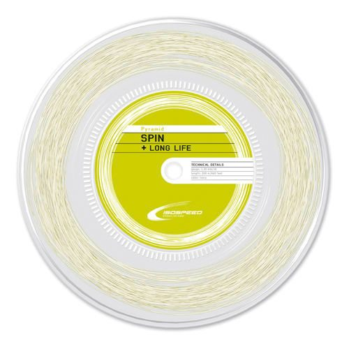 Isospeed Pyramid String Reel 200m - White