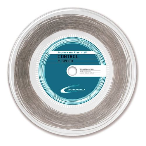Isospeed Tournament Plus String Reel 200m - Grey