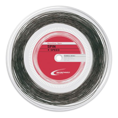 Isospeed Baseline Spin String Reel 200m - Black
