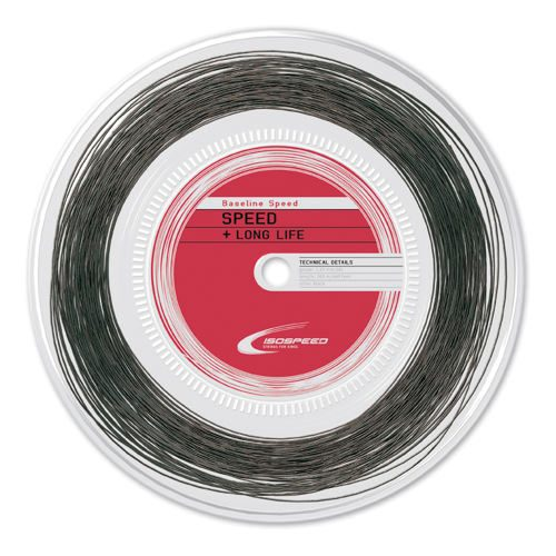Isospeed Baseline Speed String Reel 200m - Black