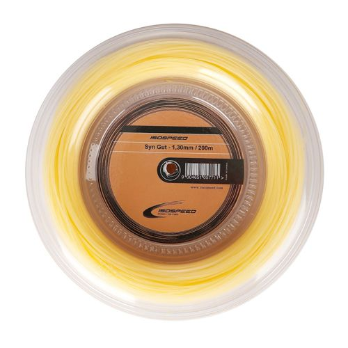 Isospeed Synthetic Gut 200m String Reel 12m - Ecru