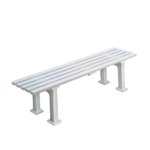 Tegra Bench 1,5m Without Armkrest - White